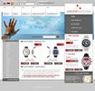 Thumbnail Online watches store templates