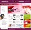 Thumbnail Fragrance and beauty online store templates