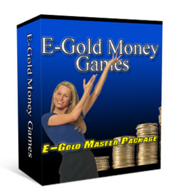 Product picture E-gold money games scripts