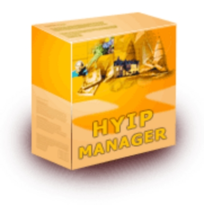 Product picture HYIP Manager scripts