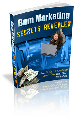Product picture Bum Marketing Secrets Revealed ebooks