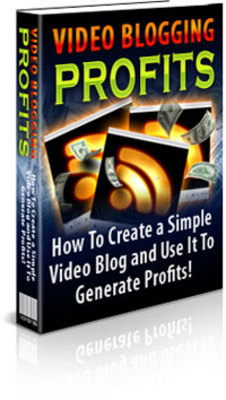 Product picture Video Blogging for Profits ebooks